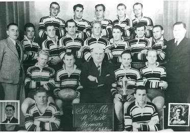 1951 Seagulls A Grade Premiership Team